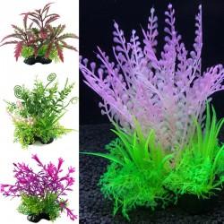 Sztuczna roślina trawiasta - chwast dekoracyjny do akwarium