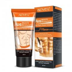 Krem budujący mięśnie brzucha - antycellulitowy - spalanie tłuszczu - dla mężczyzn