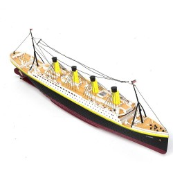 NQD 757 1/325 2.4G 80cm - Titanic RC boat - electric ship with light - RTR toy