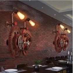 Sprzęt przemysłowy w stylu loftu - lampa ścienna w stylu vintage