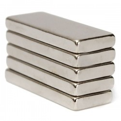 N52 Neodymium magnet rectangular block 25 * 10 * 3 mm 5 pieces